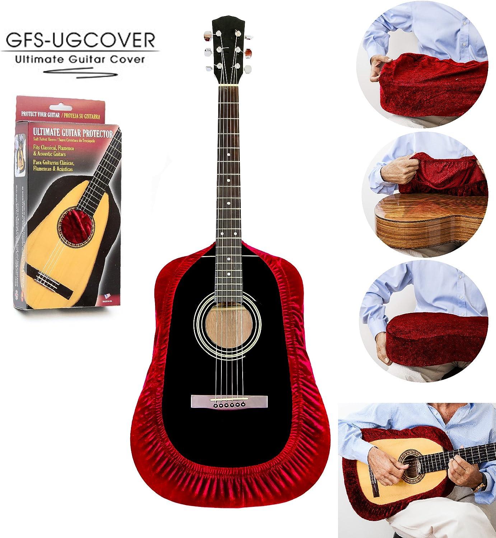 TENOR GFS-UGCOVER - Funda protectora para guitarra, protector para ...