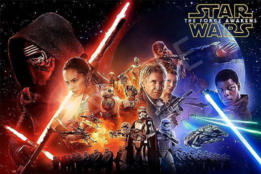 Original Star Wars Movie Poster Wall Art NEW 11x17 13x19