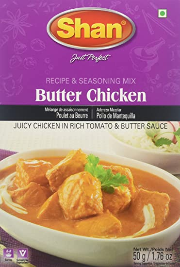 Amazon Shan Butter Chicken Mix 175 Oz Indian Food Grocery