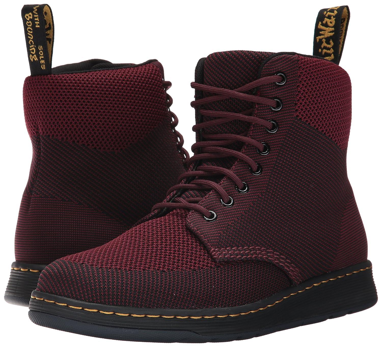 Dr. Martens Rigal Knit Fashion Boot B01N6LUPM6 13 Medium UK (14 US) Oxblood / Black Knit