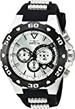 Invicta Men's 'Pro Diver' Quartz Stainless Steel and Polyurethane Casual Watch, Color:Two Tone (Model: 24678)