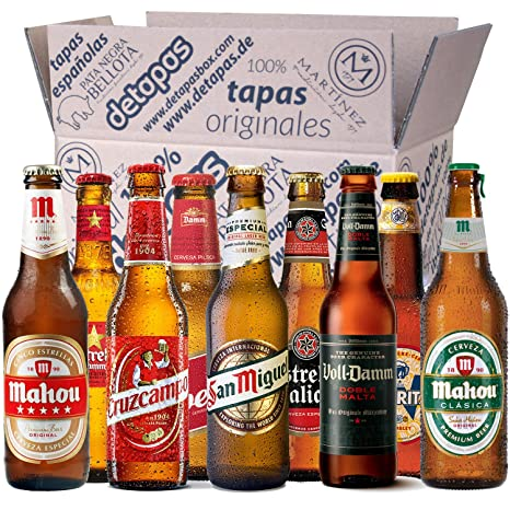 Tapas Box 9 Spanische Biersorten: Amazon.de: Lebensmittel & Getränke