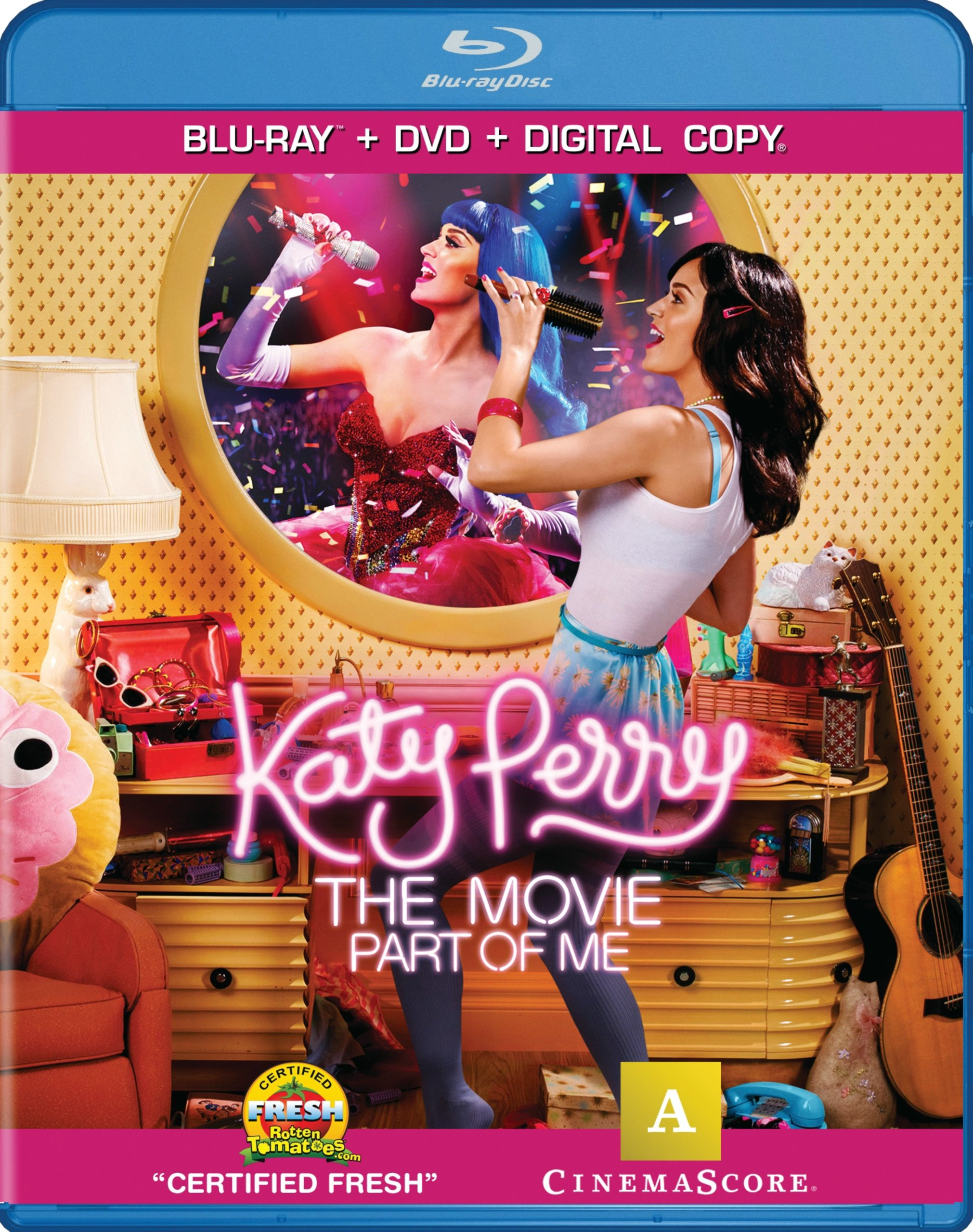 Blu-Ray : Katy Perry the Movie: Part of Me (2 Discos)