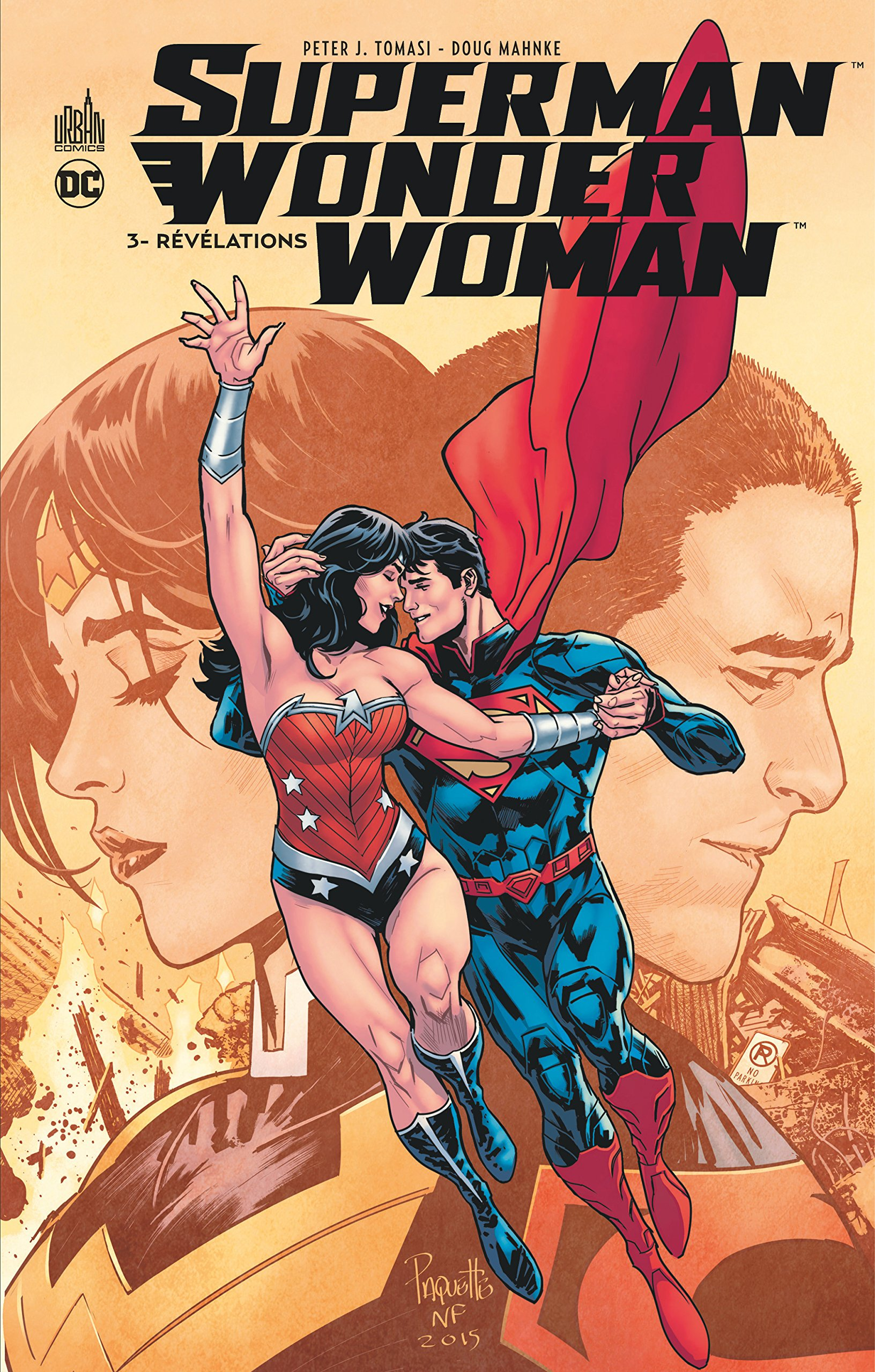 relation wonder woman superman