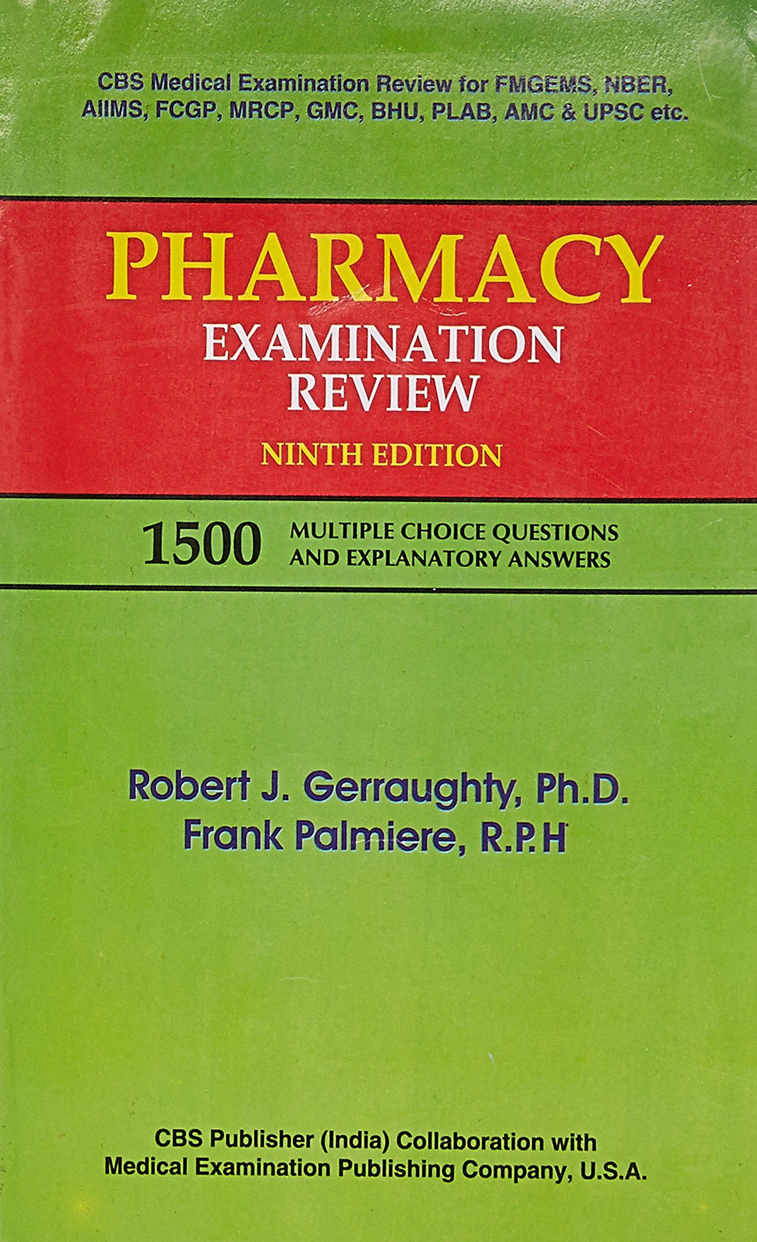 Buy Pharmacy Examination Review (1500 Multiple Choice