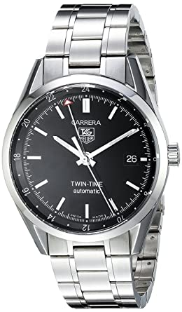 tag heuer carrera gmt mens watch wv2115 ba0787 amazon co uk watches tag heuer carrera gmt mens watch wv2115 ba0787