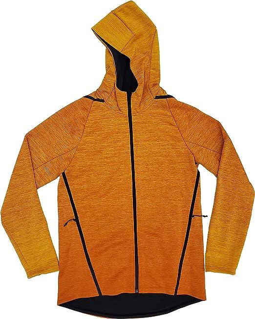 nike hoodie orange