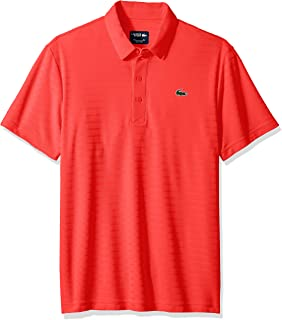 752927eb9b Amazon.com: Lacoste Men's Golf Short Sleeve Ultra Dry Tech Jersey ...