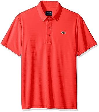 Lacoste Hombre DH8132-51 Manga Corta Camisa Polo - Rojo - 3X-Large ...