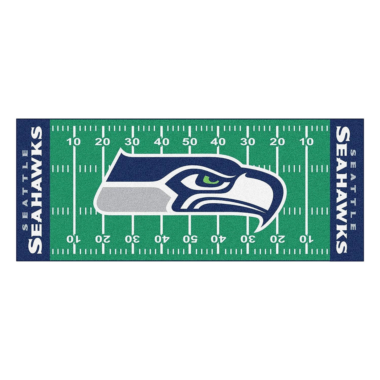 Attractive Amazon.com: FANMATS NFL Seattle Seahawks Nylon Face Football Field Runner:  Automotive