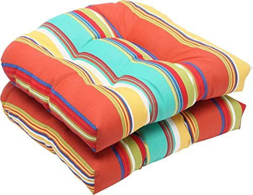 Editors' Choice: Pillow Perfect Outdoor/Indoor Westport Spring Tufted Seat Cushions Round Back