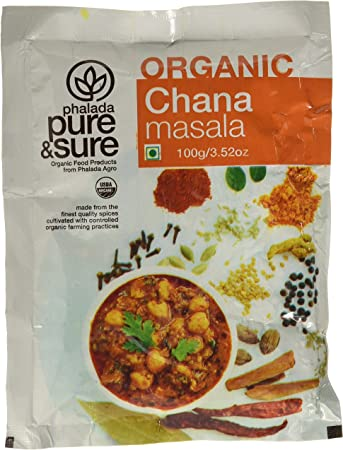 Pure & Sure Organic Channa Masala, 100g