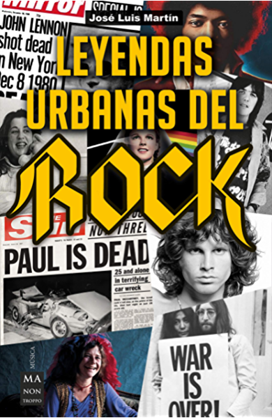 Leyendas urbanas del rock (Música) eBook: Martín, José Luis: Amazon.es: Tienda Kindle