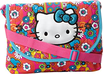 FAB Starpoint Big Girls' Hk Print Bazaar Flap Bag