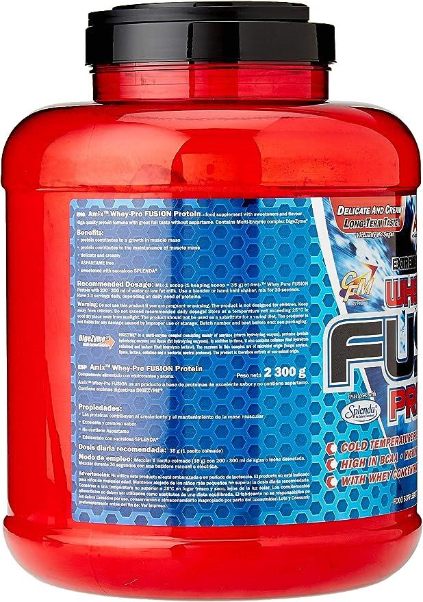 AMIX Whey Pure Fusion 2,3 Kg Vainilla 2300 g