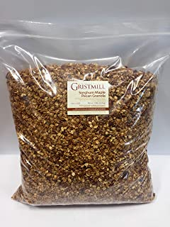 product image for Homestead Gristmill — Non-GMO, Chemical-Free, All-Natural Sorghum Maple Pecan Granola (10 lb)