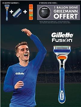 Gillette Edition limitada Griezmann – Coffret afeitadora Fusion + ...