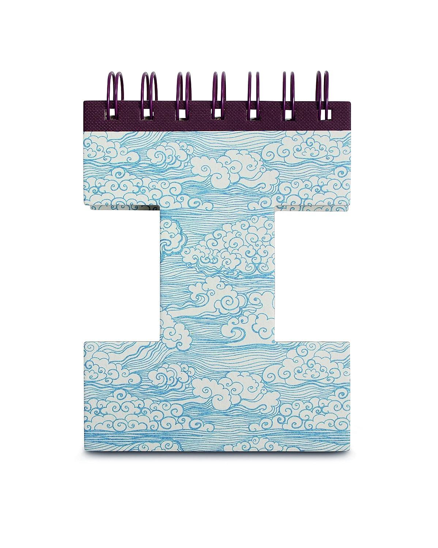 IF Alphabook I Quaderni a Forma di Lettera, Carta, Multicolore, 14x3x19 cm 5035393326098