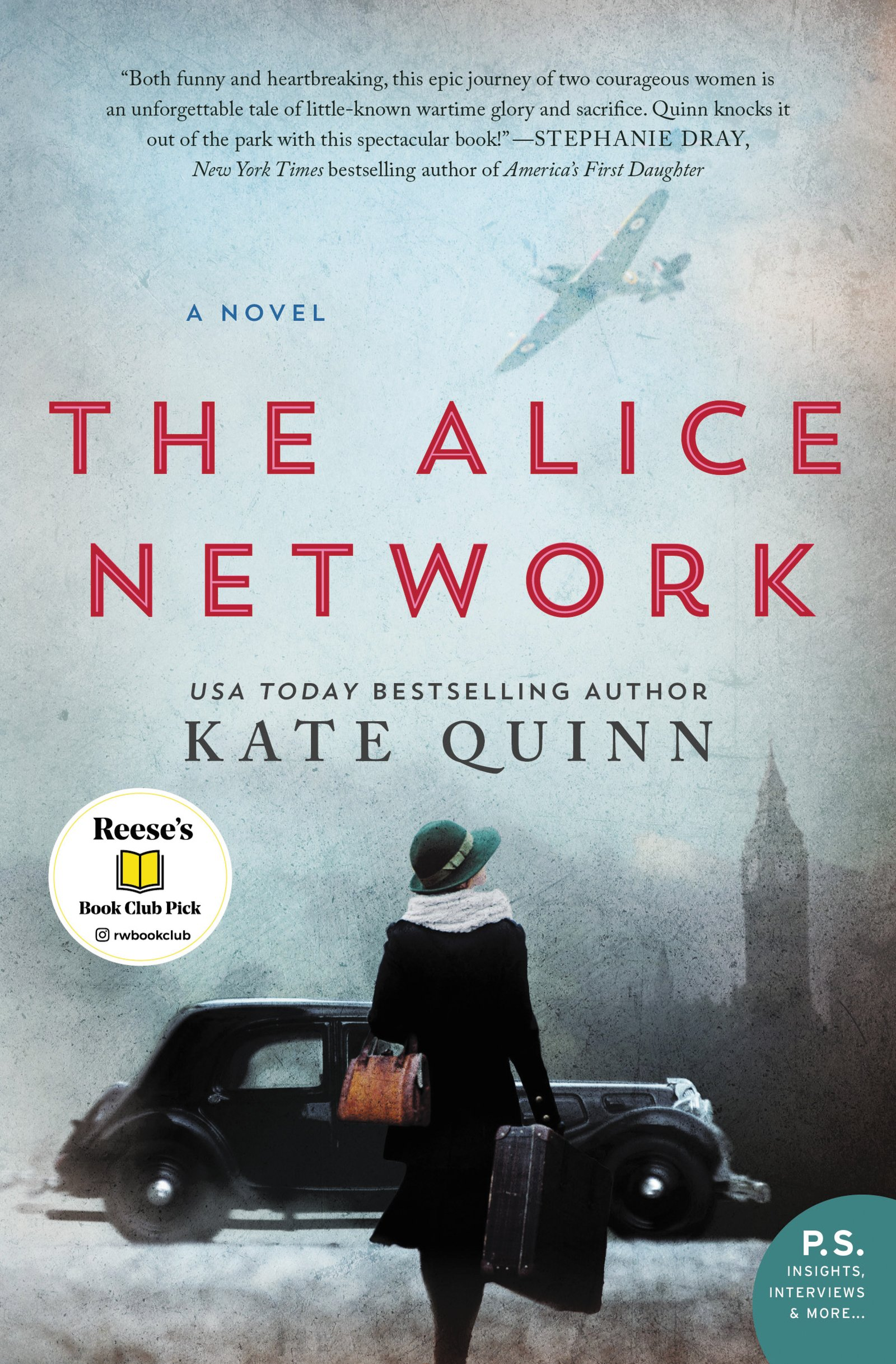 Alice Network Novel Kate Quinn
