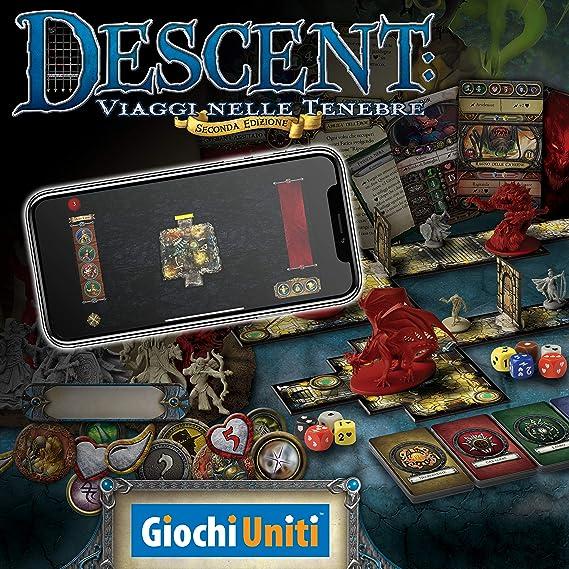 Giochi Uniti Descent: Viaggi Nelle Tenebre - Juego de Mesa (en ...