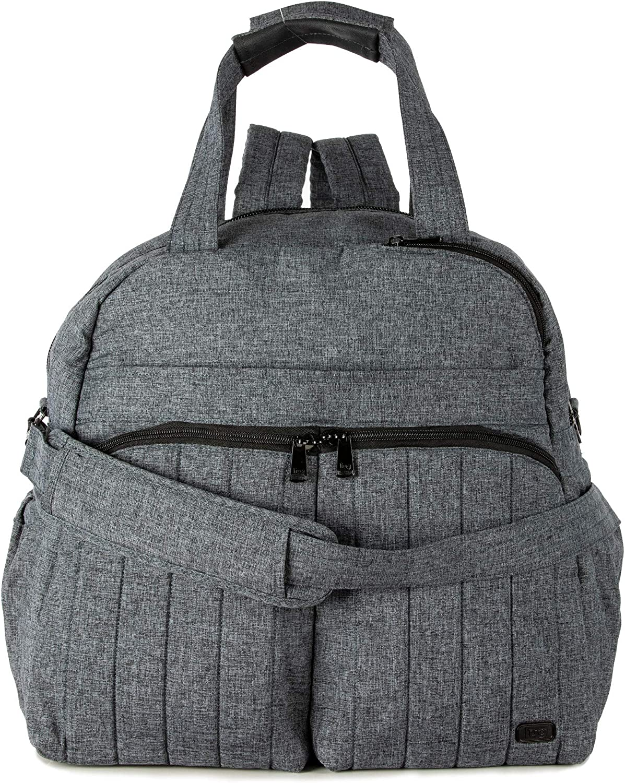 Lug Boxer Duffel Bag, Heather Grey, One Size