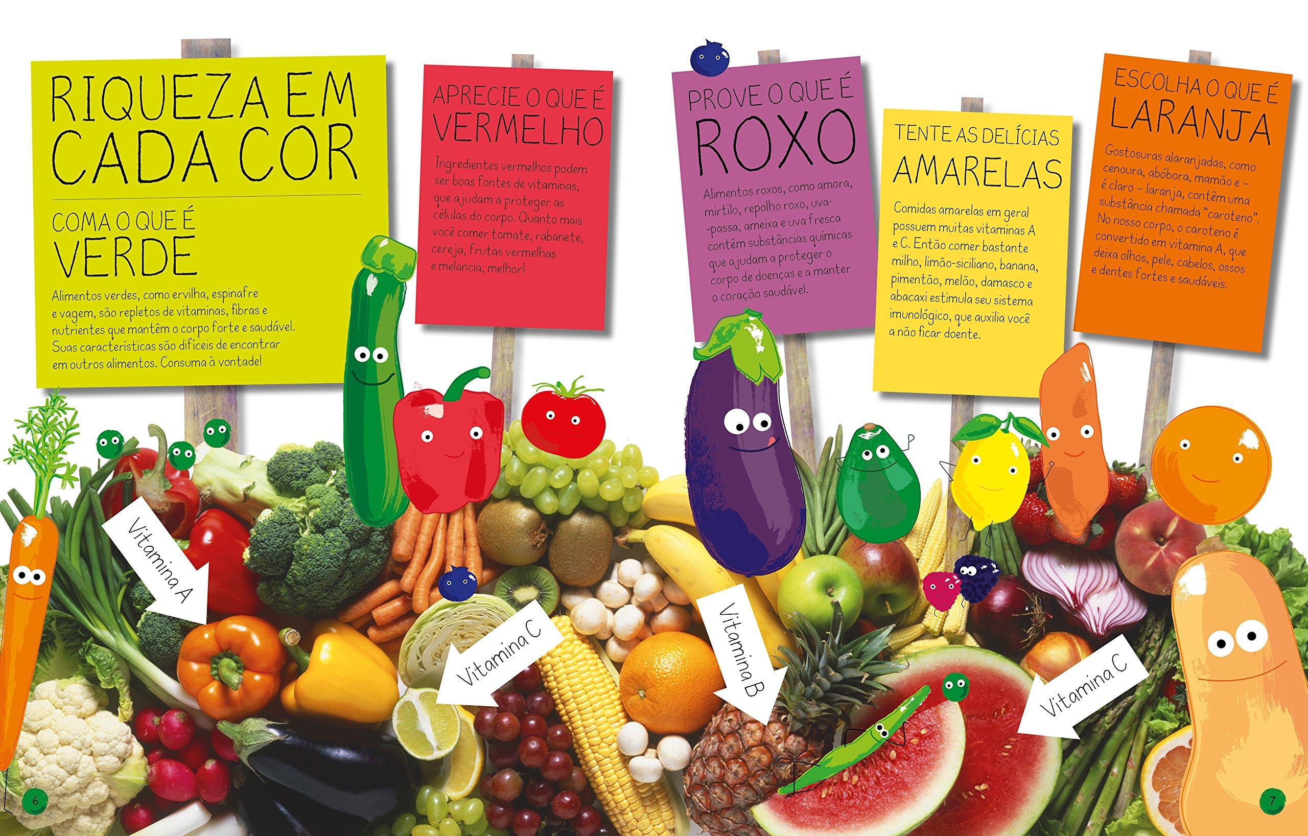 Verde, Vermelho, Roxo, Amarelo e Laranja:Coloque Mais Cor em Seu Prato (Em Portugues do Brasil): Dorling Kindersley: 9788569275428: Amazon.com: Books