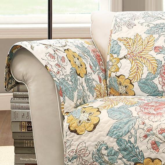 Amazon.com: lush decor Syndney brazo de silla Protector de ...