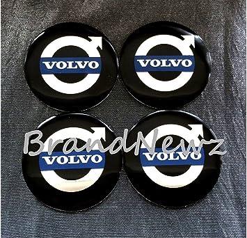 Volvo Emblema Rueda Centro Tapa Adhesivo Logotipo Tapacubos - 55 mm Dome - Juego de 4: Amazon.es: Coche y moto