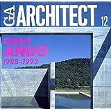GAアーキテクト (12) 安藤忠雄 1988-1993―世界の建築家 (GA ARCHITECT Tadao Ando Vol.2)