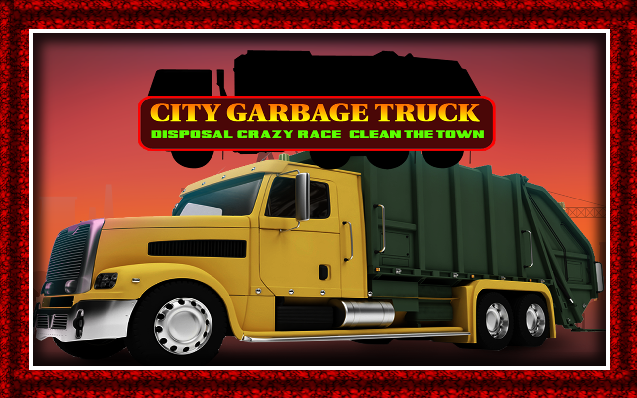 Amazon Com City Garbage Truck Disposal Crazy Race Clean