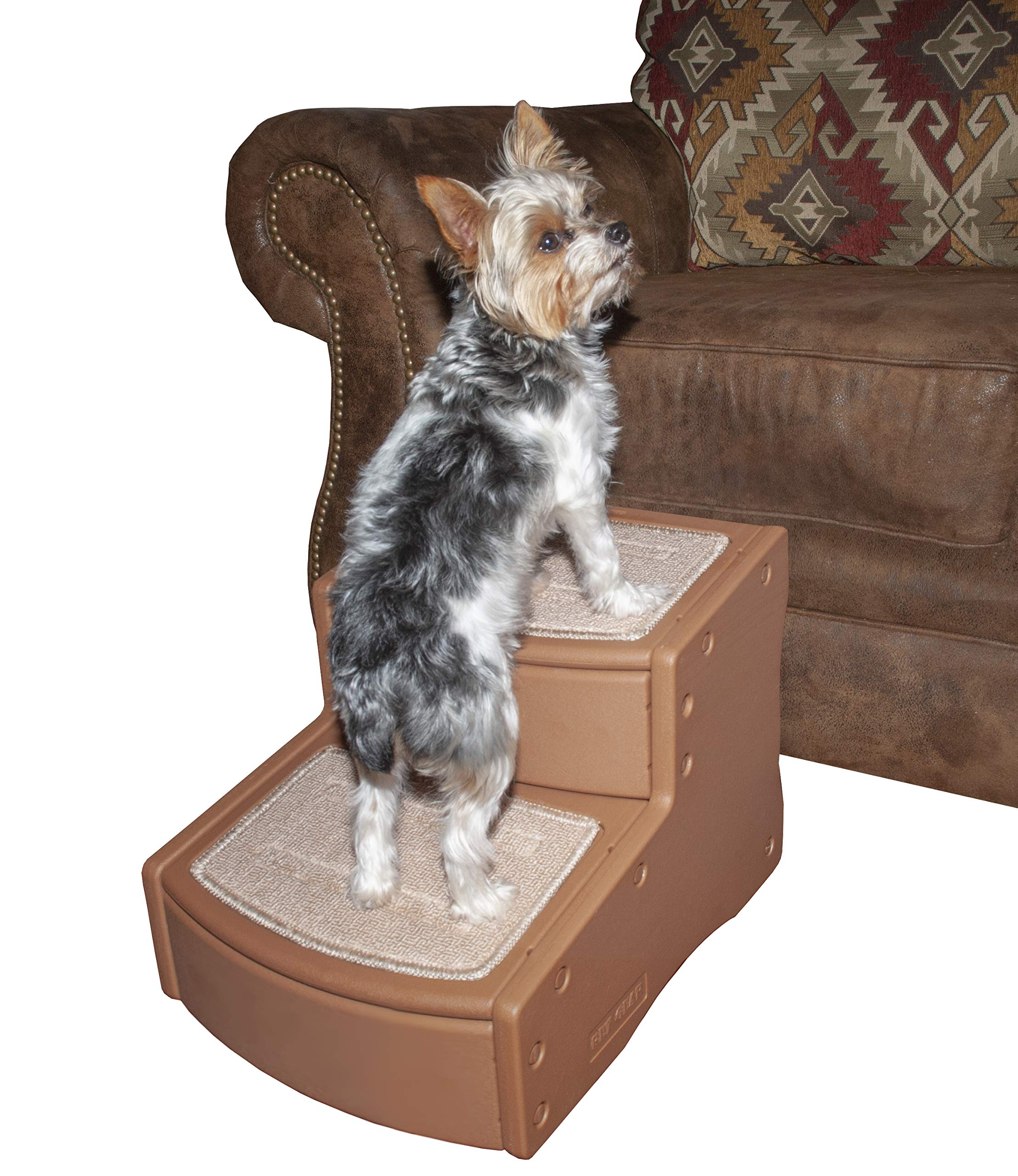 Pet Gear Easy Step II Pet Stairs, Pecan