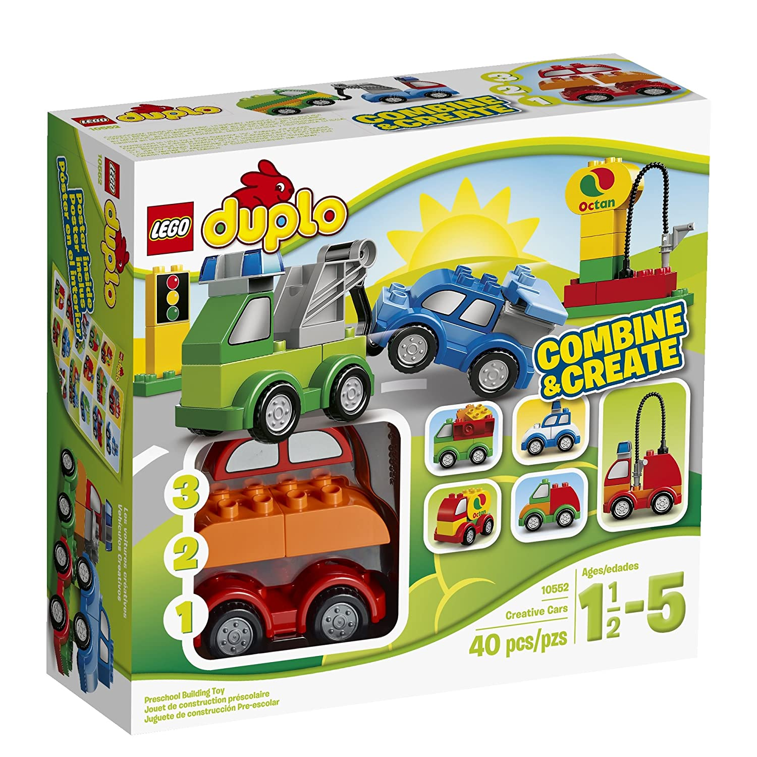 Amazon Lego Duplo My First 10552 Creative Cars Building Set