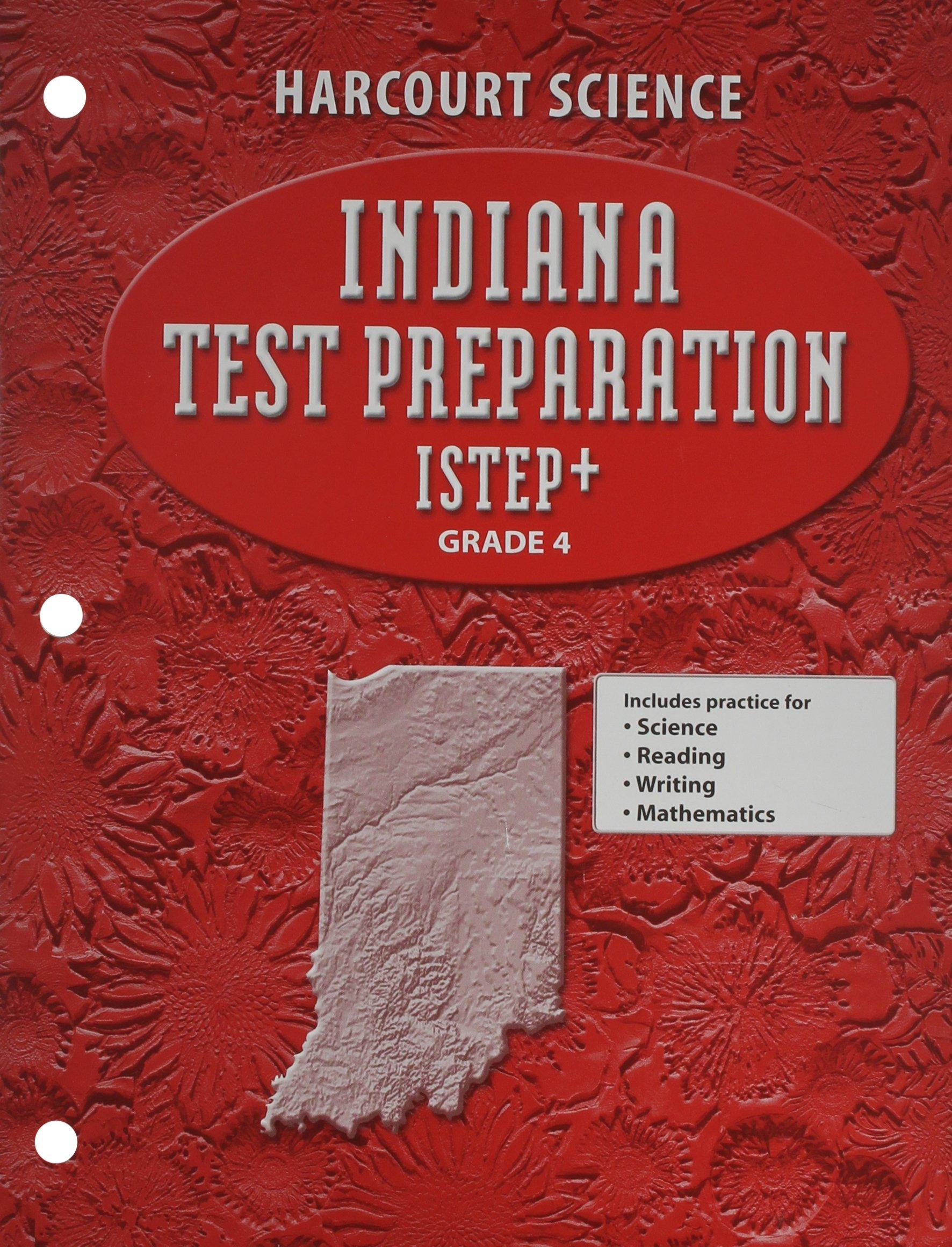 Read Online Indiana Test Preparation ISTEP+ Grade 4 PDF