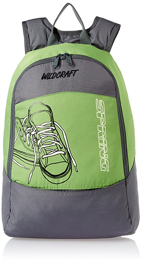 Wildcraft Spring 18 Ltrs Green Kids Bag 5 8 Years Age Amazon In