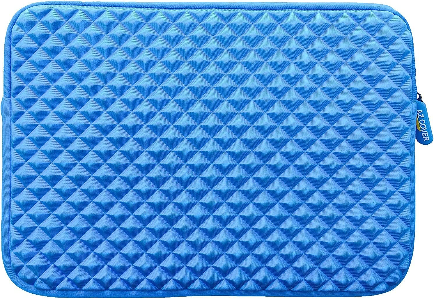 AZ-Cover 13.3-Inch Simplicity Stylish Diamond Foam Shock-Resistant Neoprene Sleeve For Dell XPS 13 9343-2727SLV 13.3 Full HD Signature Edition Laptop Blue