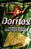 Doritos Tortilla Chips, Intense Pickle, 255 Grams