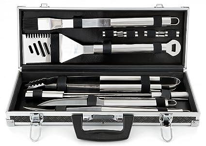 Mr. Bar-BQ 18-Piece Tool set with Case