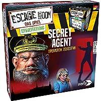 Noris 606101776 Escape Room Erweiterung Secret Agent, nur mit dem Chrono Decoder Spielbar