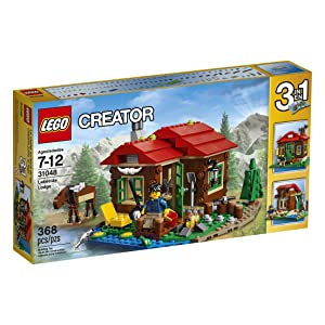 Best LEGO Creator Lakeside Lodge 31048 sets for boys