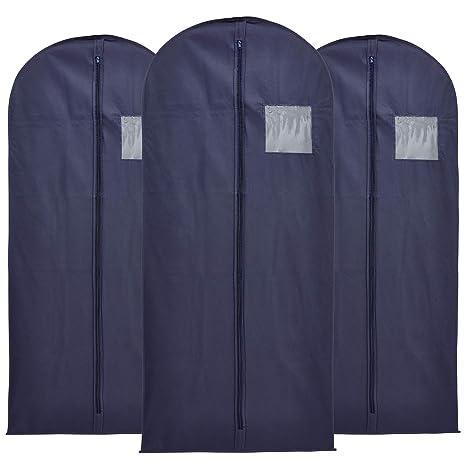 3 bolsas para guardar ropa azul marino, 137 x 61 cm, ligeras ...
