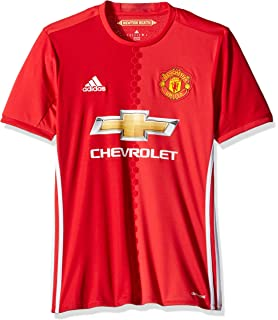 8ee29eaa11 Amazon.com   adidas Manchester United FC Official 2015 16 SS Away ...