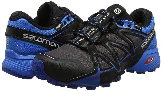 Salomon Speedcross Vario 2 Gtx, Herren Traillaufschuhe, Grau (MagnetIndigo BuntingBlack), 6.5 UK, 40 EU