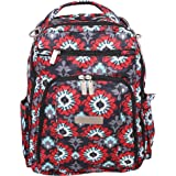 Ju-Ju-Be Classic Collection Be Right Back Backpack Diaper Bag, Sweet Scarlet