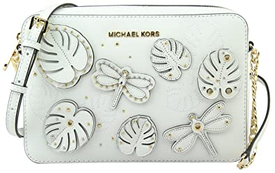 michael michael kors jet set large east west crossbody bag white rh amazon co uk