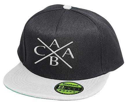 Desconocido acab, gorra, 5 Panel negro/gris talla única: Amazon.es ...