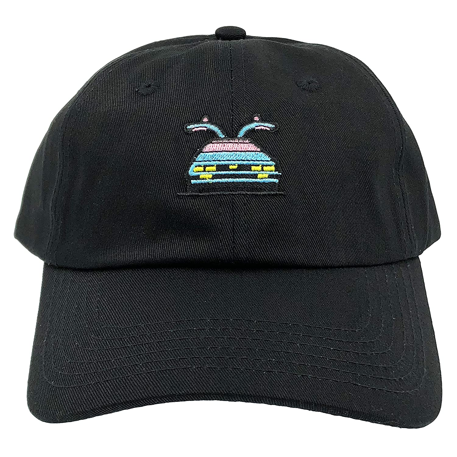 Amazon.com  Back to The Future Hat Cap Dad Hats Marty s 80s Delorean Time  Travel Machine (Black)  Sports   Outdoors becc058731b