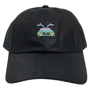 Back to The Future Hat Cap Dad Hats Marty s 80s Delorean Time Travel  Machine - Black 70c7d6955e0