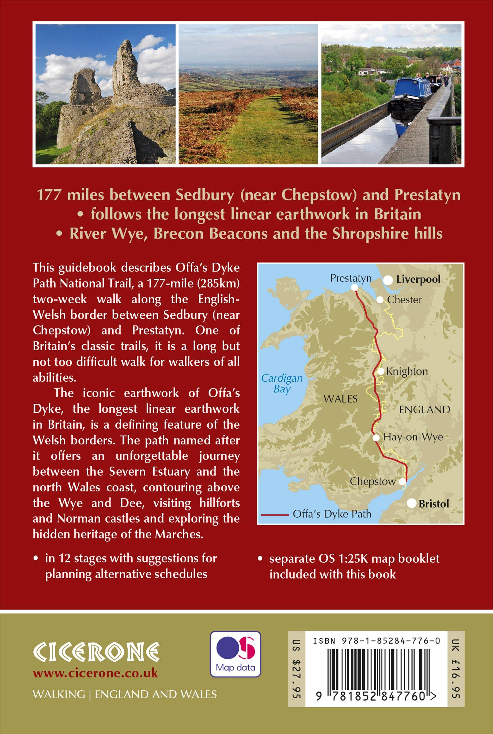 Walking Offas Dyke Path Following the English-Welsh Border