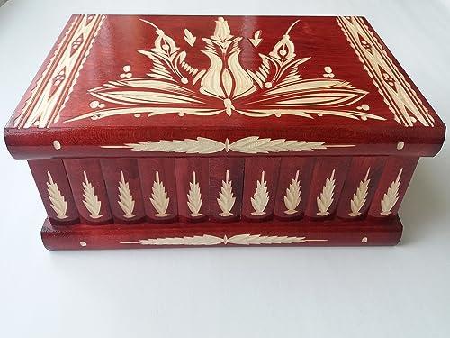 Caja puzzle de madera más grande del rompecabezas gigante rojo ...