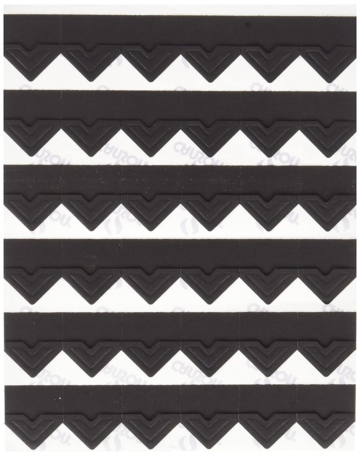 Canson Self Adhesive Photo Corners, Peel-Off Archival Quality, Black, 252-Pack (100510395) Canson Inc